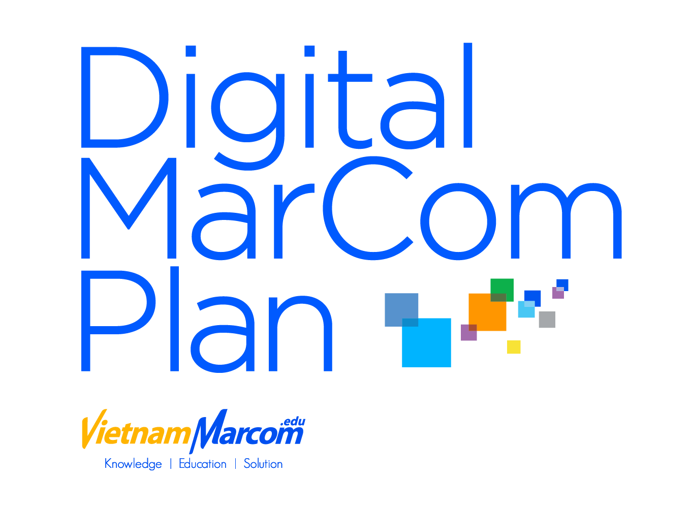 digitalMarcom-plan