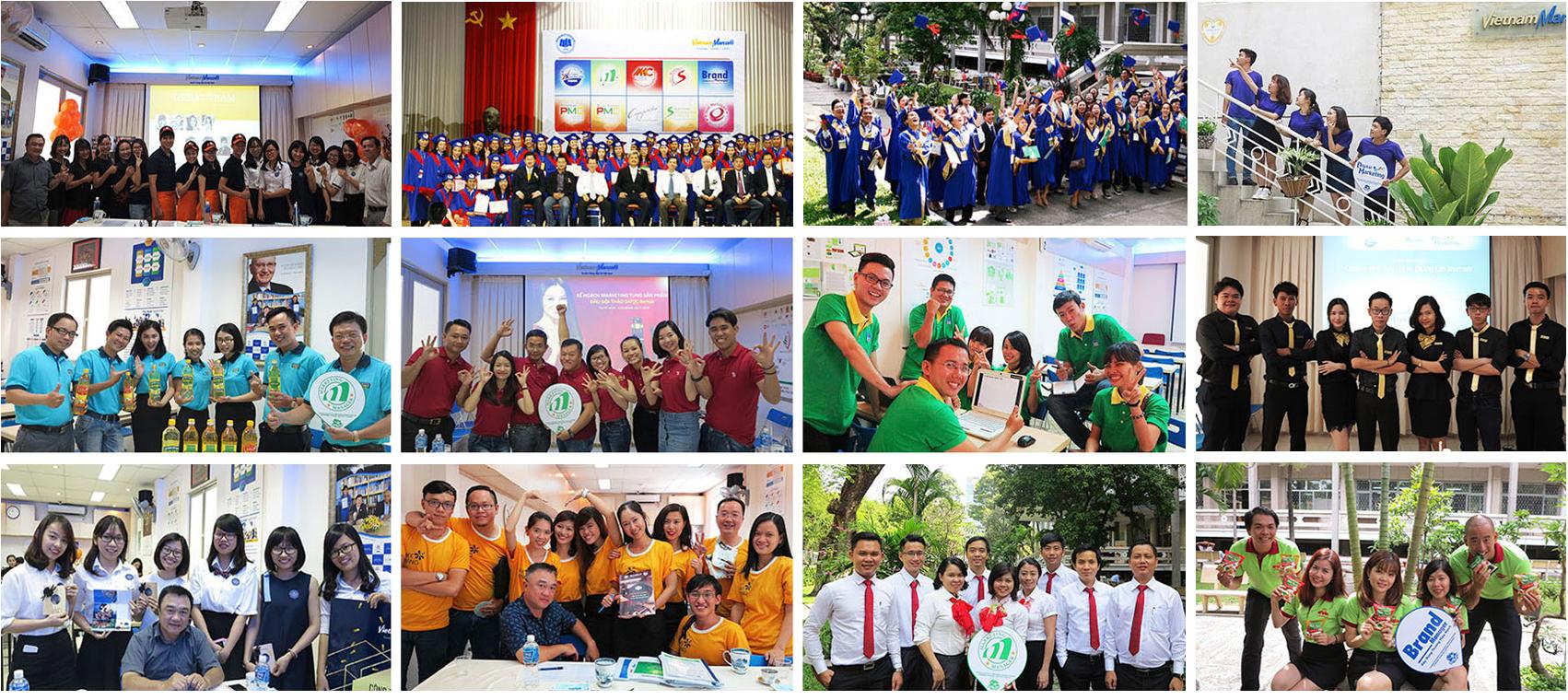 Cảm nhận của các thế hệ học viên VietnamMarcom