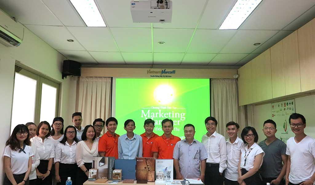 Marketing Manager - VietnamMarcom - 2016